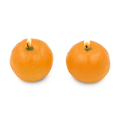 FRUIT-CANDLE-ORANGE