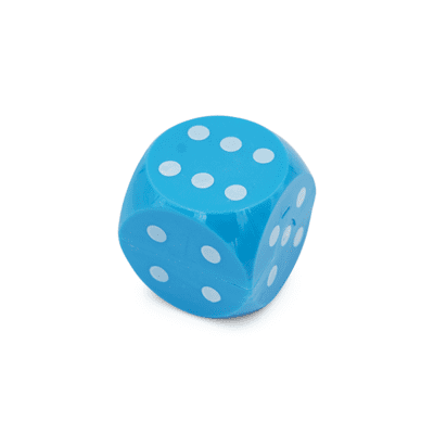 SHARPENER-DICE-BLUE