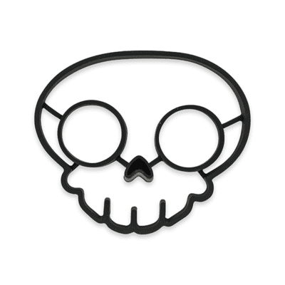 SILICON-FOOD-MODLE-SKULL