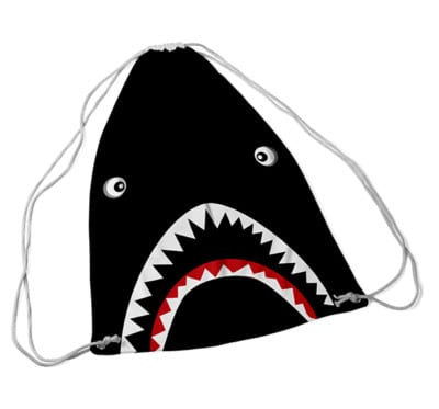 drawstring niknak shark