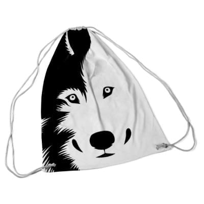 dog bag white